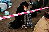 17.04.2010 Warsaw, Poland.<br /> <br /> A solemn Holy Mass, celebrated by the Polish Episcopate Members to honor all victims of the catastrophe at Smolensk--at the Pilsudski Square and Saski Park. Older woman praying.<br /> <br /> Photo: Ewa Meissner / Napo Images<br /> <br /> 17.04.2010 Warszawa, Polska.<br /> <br /> Uroczystosci zalobne i msza swieta na Placu Pilsudskiego i Parku Saskim. Kobieta podczas modlitwy.<br /> <br /> fot. Ewa Meissner / Napo Images