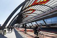Nederland Amsterdam 2016 05 01.  Overkapping achter Centraal Station. Foto Berlinda van Dam / Hollandse Hoogte
