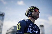 Michael Albasini (SUI/Orica-Scott) at the race start in Liège<br /> <br /> 103rd Liège-Bastogne-Liège 2017 (1.UWT)<br /> One Day Race: Liège › Ans (258km)