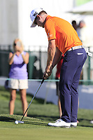 Zach Johnson (USA) putts on the 2nd green during Saturday's Round 3 of the Waste Management Phoenix Open 2018 held on the TPC Scottsdale Stadium Course, Scottsdale, Arizona, USA. 3rd February 2018.<br /> Picture: Eoin Clarke | Golffile<br /> <br /> <br /> All photos usage must carry mandatory copyright credit (&copy; Golffile | Eoin Clarke)