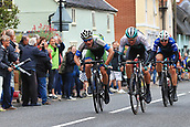 8th September 2017, Newmarket, England; OVO Energy Tour of Britain Cycling; Stage 6, Newmarket to Aldeburgh; Hayden MCCORMICK (NZL) battles with Regan GOUGH (NZL) to win the Ixworth sprint