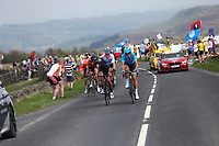 Picture by SWpix.com - 06/05/2018 - Cycling - 2018 Tour de Yorkshire - Stage 4: Halifax to Leeds - The breakaway climbs Cote de Greenhow Hill