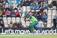 Aiden Markram  (South Africa) ducks a short delivery from Kemar Roach (West Indies) during South Africa vs West Indies, ICC World Cup Cricket at the Hampshire Bowl on 10th June 2019
