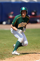 March 14, 2010:  Michael Riewer (22) of North Dakota State University Bison vs. Akron University at Chain of Lakes Park in Winter Haven, FL.  Photo By Mike Janes/Four Seam Images