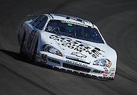 Oct. 10, 2009; Fontana, CA, USA; NASCAR Nationwide Series driver Mark Green during the Copart 300 at Auto Club Speedway. Mandatory Credit: Mark J. Rebilas-