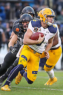 Baltimore, MD - December 10, 2016: Navy Midshipmen quarterback Zach Abey (9) in action during game between Army and Navy at  M&T Bank Stadium in Baltimore, MD.   (Photo by Elliott Brown/Media Images International)