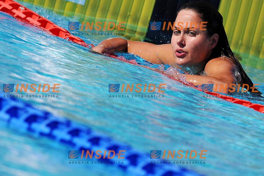 Zsuzsanna Jakabos <br /> 200m Butterfly Women<br /> Roma 14/6/2013 Piscina del Foro Italico <br /> Nuoto 50mo trofeo Settecolli<br /> Settecolli 50th International swimming trophy <br /> Foto Antonietta Baldassarre Insidefoto
