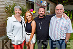 Leona O'Shea celebrating her 21st birthday at home on Thursday evening.<br /> l to r: Ann Leahy O'Shea, Leona, Mossie and Derry O'Shea.