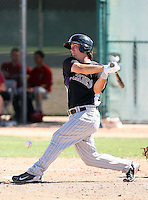 Joseph Sanders - Colorado Rockies - 2010 Instructional League.Photo by:  Bill Mitchell/Four Seam Images..