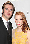 Dan Stevens & Jessica Chastain attending the Broadway Opening Night After Party for 'The Heiress' at The Edison Ballroom on 11/01/2012 in New York.