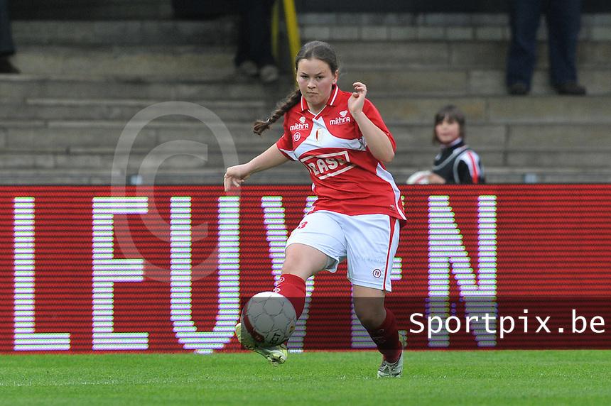 Bekerfinale 2012 : WD Lierse SK - Standard Femina :.Valentine Hannecart.foto David Catry / Joke Vuylsteke / Vrouwenteam.be