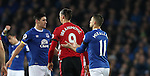 Zlatan Ibrahimovic of Manchester United and Gareth Barry of Everton during the Premier League match at Goodison Park, Liverpool. Picture date: December 4th, 2016.Photo credit should read: Lynne Cameron/Sportimage