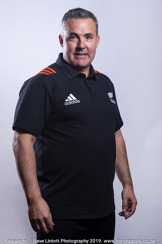 Assistant Coach Kevin Harding. 2019 New Zealand Schools rugby union headshots at the Sport & Rugby Institute in Palmerston North, New Zealand on Wednesday, 25 September 2019. Photo: Dave Lintott / lintottphoto.co.nz