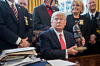 FEB 07 President Trump Holds Listening Session With County Sheriffs