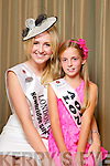 London Rose Grace Kenny pictured with her Rosebud Aoibhin Lynch at the Carlton Hotel at the Rose of Tralee on Friday.