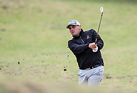 Ryan Chisnall. Jennian Homes Charles Tour Autex Muriwai Open, Muriwai Links Golf Course, Muriwai, Auckland, New Zealand,Thursday 12 April 2018. Photo: Simon Watts/www.bwmedia.co.nz