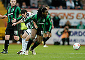 12/11/2006       Copyright Pic: James Stewart.File Name :sct_jspa17_st_mirren_v_celtic.STEWART KEAN AND EVANDER SNO CHALLENGE FOR THE BALL.James Stewart Photo Agency 19 Carronlea Drive, Falkirk. FK2 8DN      Vat Reg No. 607 6932 25.Office     : +44 (0)1324 570906     .Mobile   : +44 (0)7721 416997.Fax         : +44 (0)1324 570906.E-mail  :  jim@jspa.co.uk.If you require further information then contact Jim Stewart on any of the numbers above.........