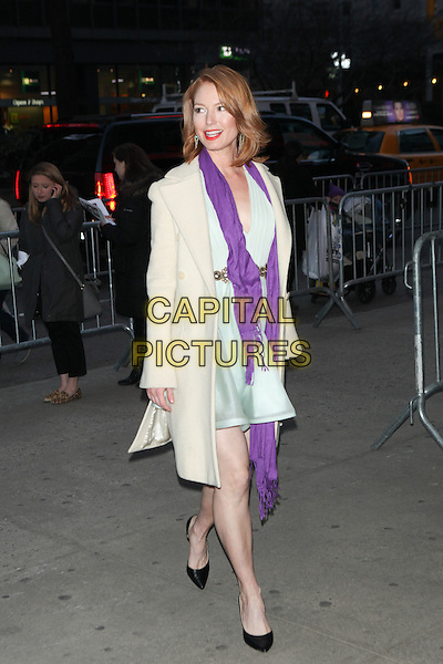 NEW YORK - MARCH 18: Alicia Witt  arrives at the 'Danny Collins' New York Premiere at AMC Lincoln Square Theater on March 18, 2015 in New York City. <br /> CAP/MPI/COR99<br /> &copy;COR99/MPI/Capital Pictures