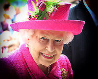 JUL 9 HM The Queen visits Royal Papworth Hospital