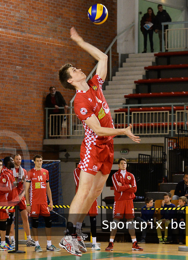 Beauvais Oise Universite Club Volley : Gert Van Walle<br /> foto VDB / BART VANDENBROUCKE