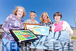 Getting ready for their annual art exhibition this Sunday in Ballybunion Convent at 2pm are members of the Ballybunion Active Retirement. Pictured l-r were: Delia O'Sullivan (PRO), Kathleen Collins (Assistant Secretary), Patricia Buckley (Chairperson) and Geraldine Scanlon (Treasure).