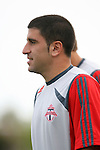 31 March 2007: Toronto's Alecko Eskandarian.  The United Soccer League Division 1 Charleston Battery lost to Major League Soccer expansion team Toronto FC 3-0 in a preseason game at Blackbaud Stadium on Daniel Island in Charleston, SC, as part of the Carolina Challenge Cup.