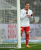 FUSSBALL   1. BUNDESLIGA   SAISON 2011/2012   18. SPIELTAG FC Schalke 04 - VfB Stuttgart            21.01.2012 Stefano Celozzi (VfB Stuttgart)