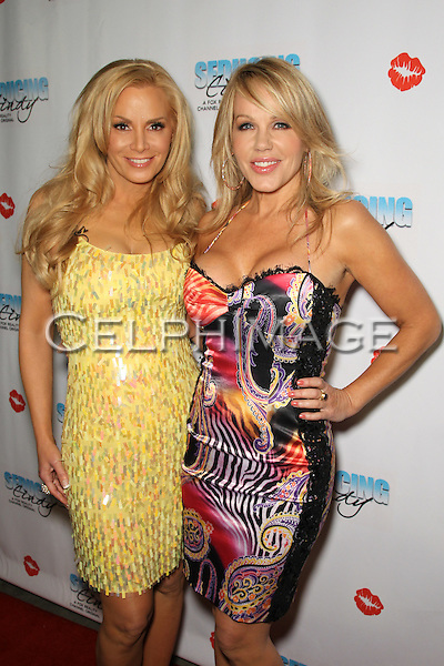 "CINDY MARGOLIS, LUANN LEE. Cast and friends of the hit Fox Reality series,  ""Seducing Cindy,"" arrive to the finale party at Guy's North. Studio City, CA, USA. March 18, 2010."