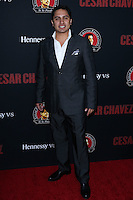 "HOLLYWOOD, LOS ANGELES, CA, USA - MARCH 20: Julion Alvarez at the Los Angeles Premiere Of Pantelion Films And Participant Media's ""Cesar Chavez"" held at TCL Chinese Theatre on March 20, 2014 in Hollywood, Los Angeles, California, United States. (Photo by David Acosta/Celebrity Monitor)"