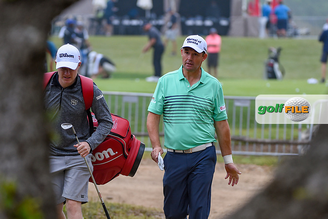 Padraig Harrington (IRL) makes his way to the tee on 10 during day 3 of the Valero Texas Open, at the TPC San Antonio Oaks Course, San Antonio, Texas, USA. 4/6/2019.<br /> Picture: Golffile | Ken Murray<br /> <br /> <br /> All photo usage must carry mandatory copyright credit (© Golffile | Ken Murray)
