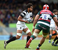 Steven Luatua of Bristol Bears in possession. Gallagher Premiership match, between Leicester Tigers and Bristol Bears on April 27, 2019 at Welford Road in Leicester, England. Photo by: Patrick Khachfe / JMP