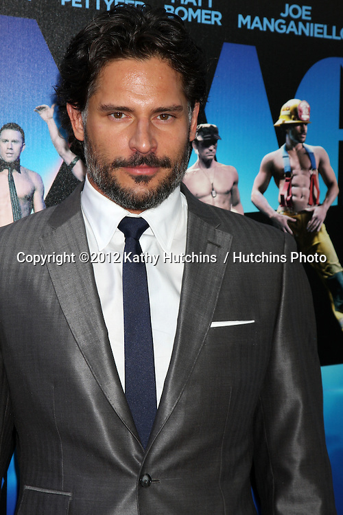 "LOS ANGELES - JUN 24:  Joe Manganiello arrives at the ""Magic Mike"" LAFF Premiere at Regal Cinema at LA Live on June 24, 2012 in Los Angeles, CA"