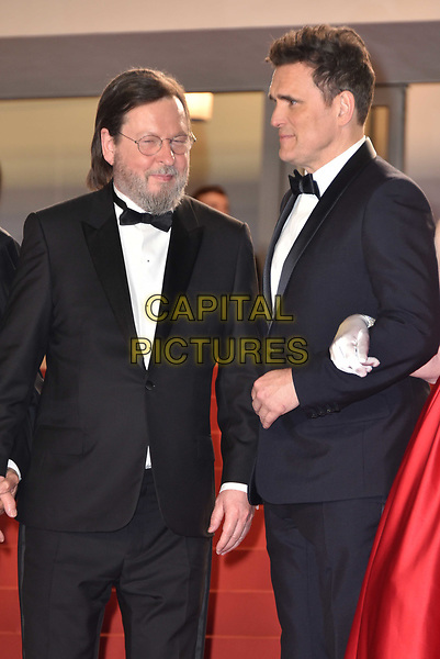 CANNES, FRANCE - MAY 14: Lars von Trier, Lars von Trier, Matt Dillon at the screening of 'The House That Jack Built' during the 71st annual Cannes Film Festival at Palais des Festivals on May 14, 2018 in Cannes, France.<br /> CAP/PL<br /> &copy;Phil Loftus/Capital Pictures