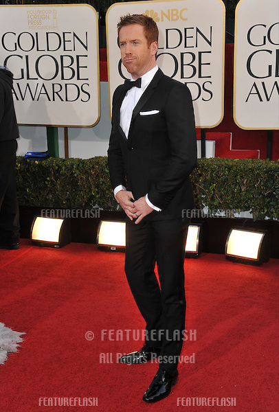 Damian Lewis at the 70th Golden Globe Awards at the Beverly Hilton Hotel..January 13, 2013  Beverly Hills, CA.Picture: Paul Smith / Featureflash