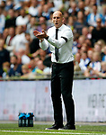 Reading manager Jaap Stam applauds during the SkyBet Championship Play Off Final match at the Wembley Stadium, England. Picture date: May 29th, 2017.Picture credit should read: Matt McNulty/Sportimage