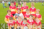 STARS: The Valentia  team that took part in the annual Johnny Boyle memorial Shield Juvenile Tootball Blitz in Caherciveen on Sunday last..Front L/r.Dion Corcoran, Dillon Sugrue, Denis Driscoll, Devlin Corcoran, Finn Corcoran..Second row L/r. Salvador Mackey, Declan O'Shea, Darren Curran, Concubhair Guiney..Back L/r. Jim Lyne, Jack O'Driscoll, Cillian Houlihan and Stephen Donoghue.   Copyright Kerry's Eye 2008