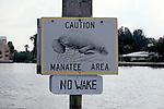 Manatee Sign