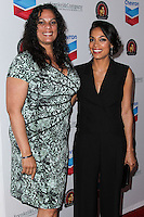 LOS ANGELES, CA, USA - MARCH 27: Isabel Celeste, Rosario Dawson at the Cesar Chavez Foundation's 2014 Legacy Awards Dinner held at the Millennium Biltmore Hotel on March 27, 2014 in Los Angeles, California, United States. (Photo by Xavier Collin/Celebrity Monitor)