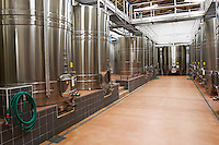 stainless steel tanks chateau reysson haut medoc bordeaux france