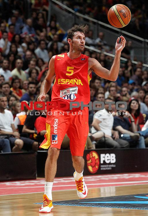 Spain's Alex Mumbru during friendly match.August 23,2012. Foto © nph / Acero)