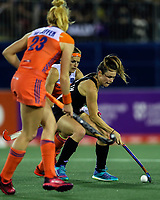 Kelsey Smith during the World Hockey League final between the Netherlands and New Zealand. North Harbour Hockey Stadium, Auckland, New Zealand. Sunday 26 November 2017. Photo:Simon Watts / www.bwmedia.co.nz