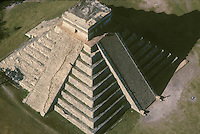 Chichen Itza, Yucatan, Mexico aerial