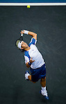 Fernando Verdasco of Spain  in action during the Day 6 of the PTT Thailand Open at Impact Arena on September 30, 2010 in Bangkok, Thailand. Photo by Victor Fraile / The Power of Sport Images