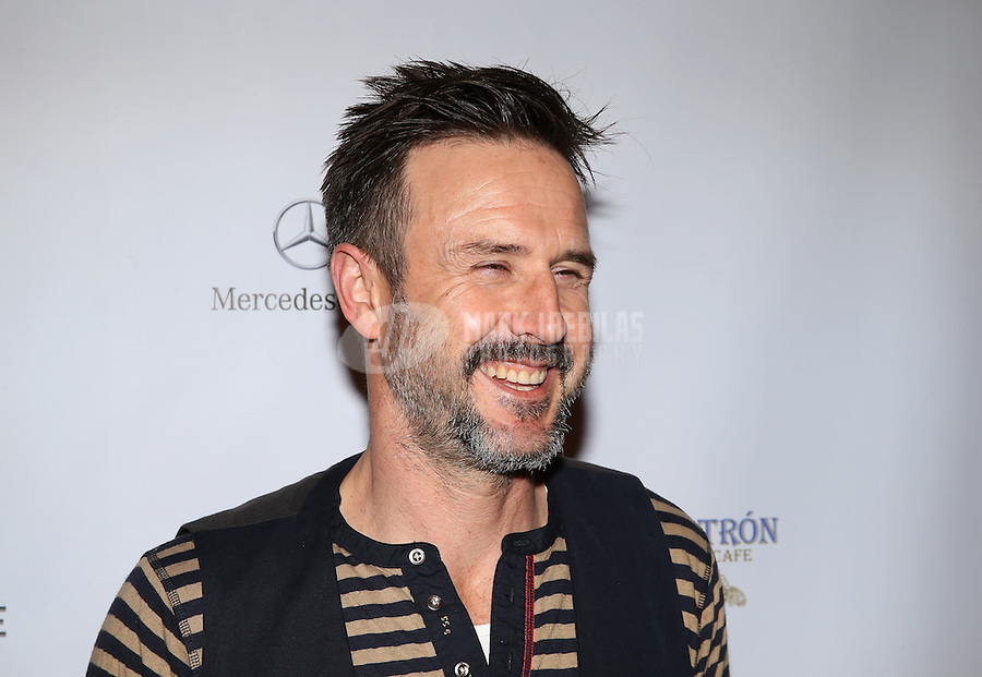 Feb. 2, 2013; New Orleans, LA, USA: Movie actor David Arquette walks the red carpet prior to the GQ Party at the Elms Mansion leading up to Super Bowl XLVII. Mandatory Credit: Mark J. Rebilas-USA TODAY Sports