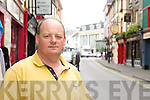 Declan Byrne, Killarney..Killarney town has a good atmosphere and in the shops you always receive a friendly service.
