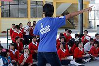 TEC MTY CAMPUS PUEBLA.<br /> Brigada Paris TecMonterrey campus Puebla...<br /> Credito:HildaRios/nortephoto.com