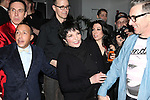 Daniel Nardicio, Scott Gorenstein, Grant Shaffer, Liza Minnelli & Alan Cumming attending the Liza Minnelli 67th Birthday Celebration at the Copa in New York City on 3/13/2013..