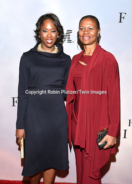 author Margot Lee Shetterly and Dr Yvonne Cagle attend &quot;Hidden Figures&quot; Special Screening on December 10, 2016 at SVA Theatre in New York, New York, USA.<br /> <br /> photo by Robin Platzer/Twin Images<br />  <br /> phone number 212-935-0770