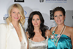 "Gwyneth Paltrow Martin,Courteney Cox Arquette & Rita Wilson at The Saks Fifth Avenue's ""Unforgettable Evening"" benefiting EIF's Women's Cancer Research Fund held at The Beverly Wilshire Hotel in Beverly Hills, California on February 10,2009                                                                     Copyright 2009 Debbie VanStory/RockinExposures"