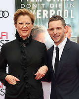 HOLLYWOOD, CA - NOVEMBER 12: Annette Bening and Jamie Bell at the Film Stars Don't Die In Liverpool Special Screening AFI Fest 2017 at the TCL Chinese Theatre in Hollywood, California on November 12, 2017. <br /> CAP/MPI/FS<br /> &copy;FS/MPI/Capital Pictures